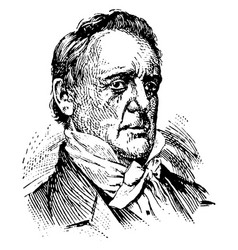 James buchanan vintage vector
