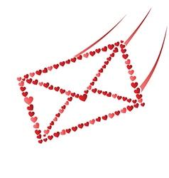 Love envelope vector image