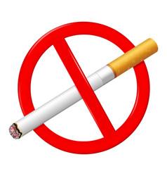 no smoking sign stop smoking symbol vector image
