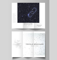 The minimal layouts modern creative covers vector