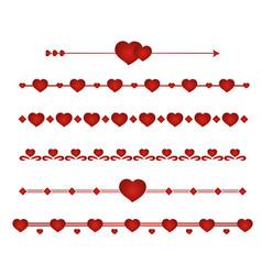 set border wedding vector image