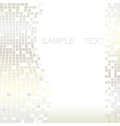 squares mosaic texture vector image vector image