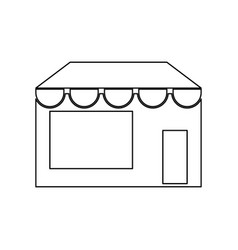store black color icon vector image