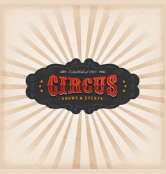 Circus background with texture vector