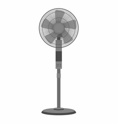 Electric black fan vector