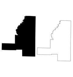 Jackson county arkansas us county united states vector