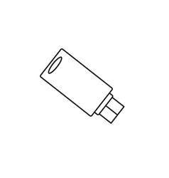 pendrive usb icon vector image