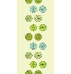 abstract green polka dot stripes vertical vector image