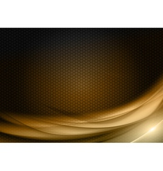 abstract background honey color vector image vector image