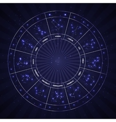 Set of Symbol Zodiac Sign vector image