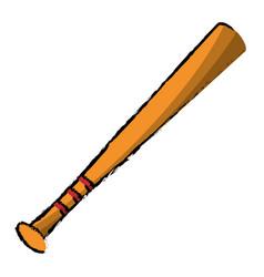 baseball bat sport image vector image vector image