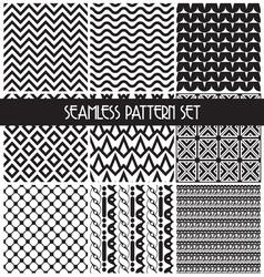 set paterna2 vector image