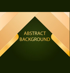 abstract dark gold curve overlapping background vector image