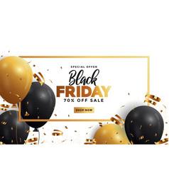 Black friday sale banner 5 vector