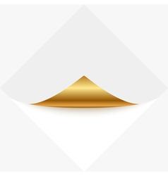 Gold memo vector