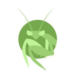 Mantis symbol vector