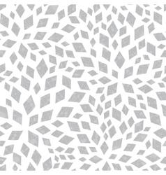 Silver textured mosaic tiles seamless vector