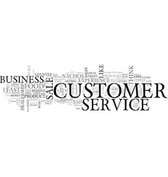 what s the customer service buzz about your vector image