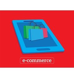 e-commerce vector image vector image