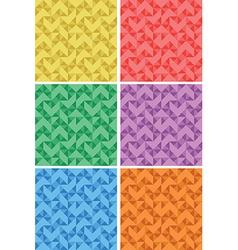 geometric patterns vector image