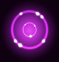 Abstract background with violet circle vector image vector image
