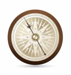 antique compass illustration vector image
