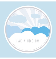 Have a nice day1 vector image