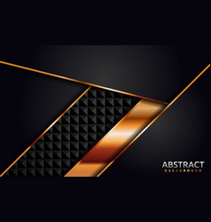 Abstract geometric dark background design combine vector