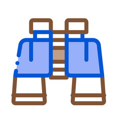 binoculars icon outline vector image