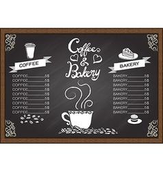 Breakfast set design elements vector