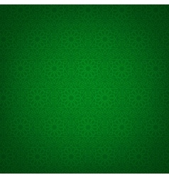 Green arabic background vector