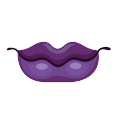 lips icon isolated vector image