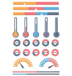 4698 - Indicators 8 2 vector