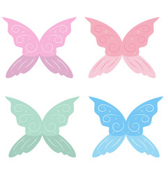 Collection of fairy wings collection of fairy vector