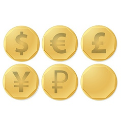 Currency vector image