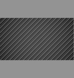 Dark gray carbon fiber texture background design vector