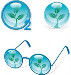 eco designs vector image