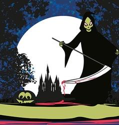 Grim reaper vector image