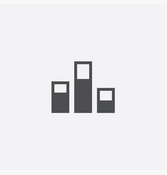 levels icon vector image