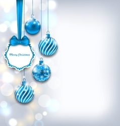 Magic Background for Merry Christmas vector image