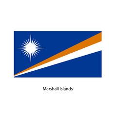 marshall islands flag vector image