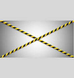 warning lines caution it is dangerous to health vector image