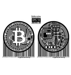 Bitcoin physical bit coin vector