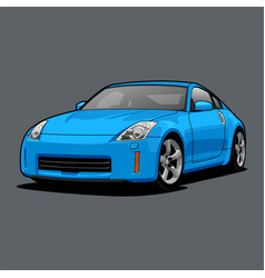 car color 3 vector image