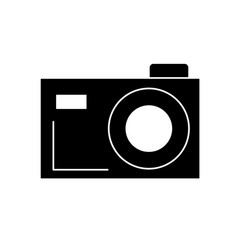 Contour digital camera to capture the nice moments vector
