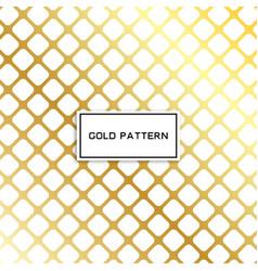 Geometric gold glittering seamless pattern vector