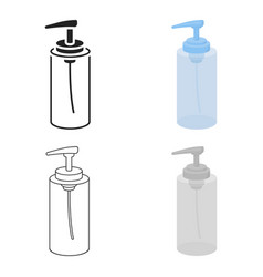 lotion icon in cartoon style isolated on white vector image
