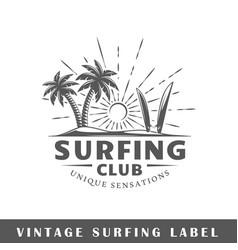 Surfing label vector