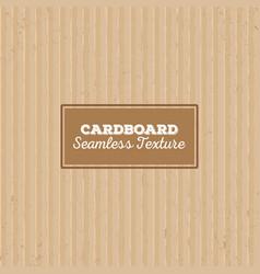 Cardboard texture seamless pattern vector