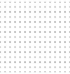 Gray Black Tiny Circle Abstract White vector image